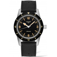 Longines - Skin Diver Watch & Gummiband 42mm