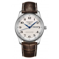 Longines - Master Annual Calendar White & Leather 40mm