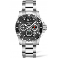Longines - HydroConquest Chronograph Steel & Ceramic Black 41mm