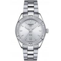 TISSOT PR100 Sport Chic quartz damklocka silver T1019101103100