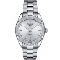 TISSOT PR100 Sport Chic Quartz Lady's watch, silver T1019101103100