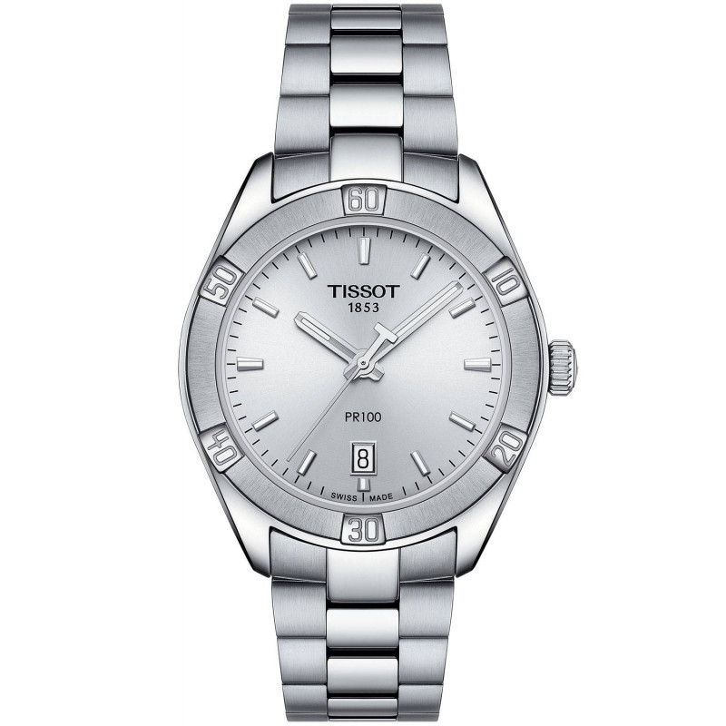 TISSOT PR100 Sport Chic Quartz Lady's watch, silver T1019101103100