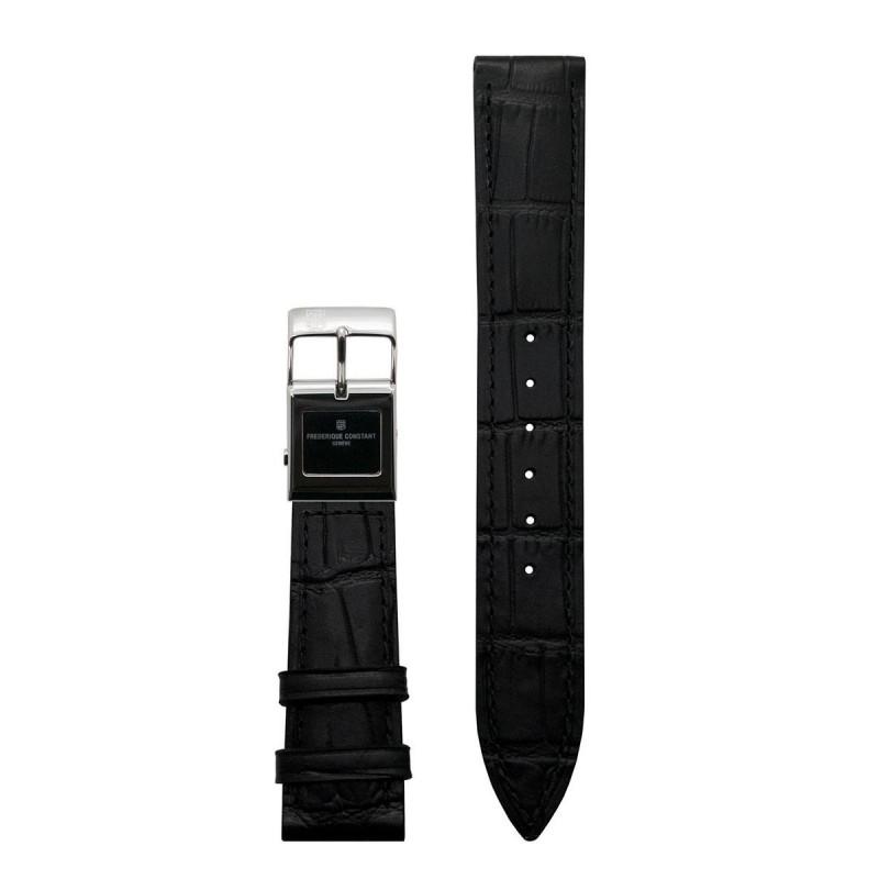 Frederique Constant E-Strap Black & Steel 20mm