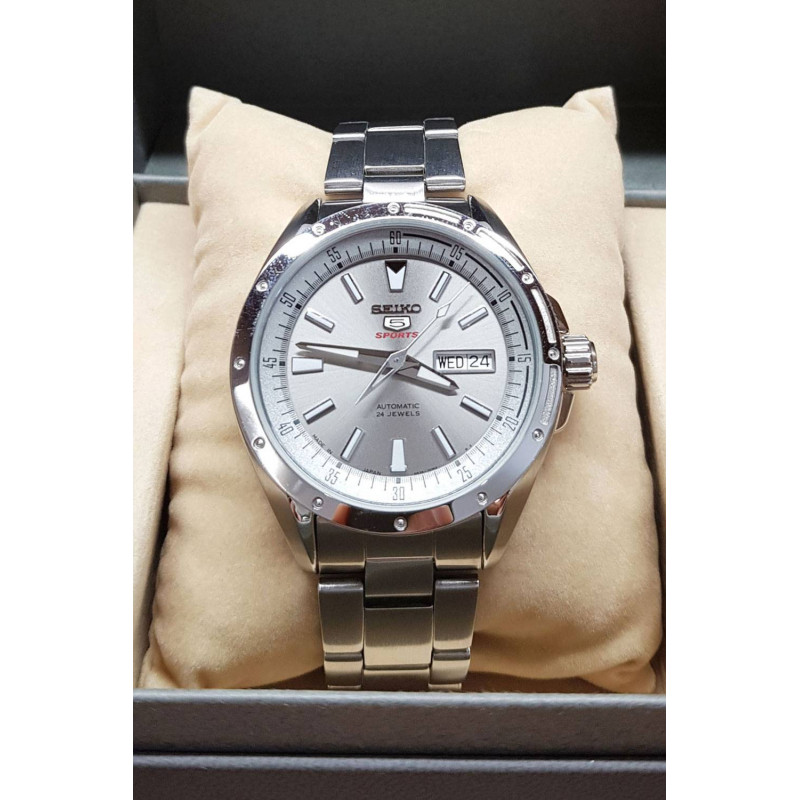 Pre Owned Seiko 5 Sports Automatic Men S Watch 42 Mm