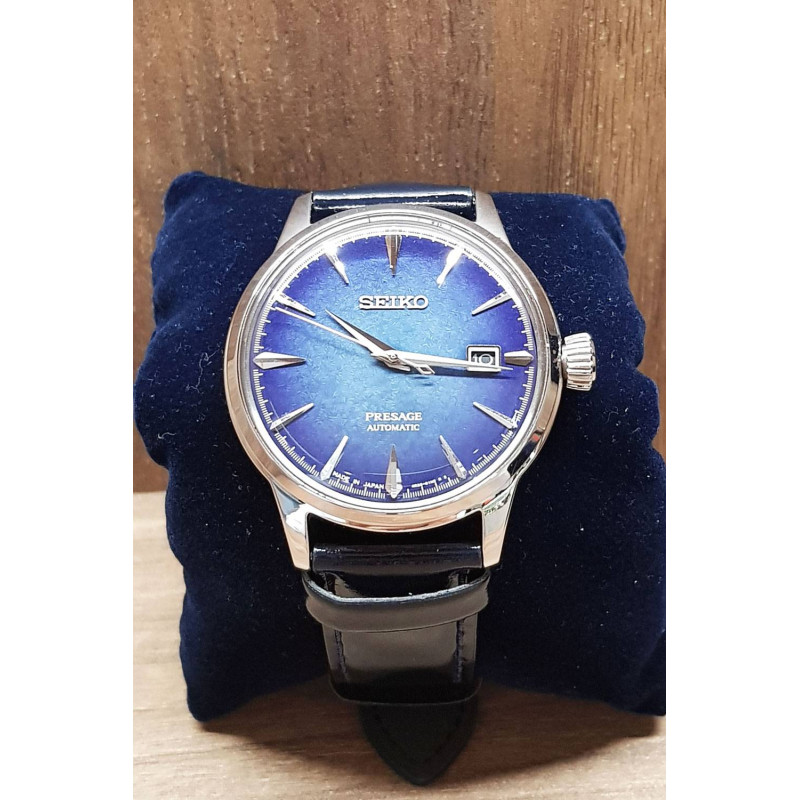 PRE-OWNED Seiko Presage Cocktail TIme and Date Men´s Watch 40 mm