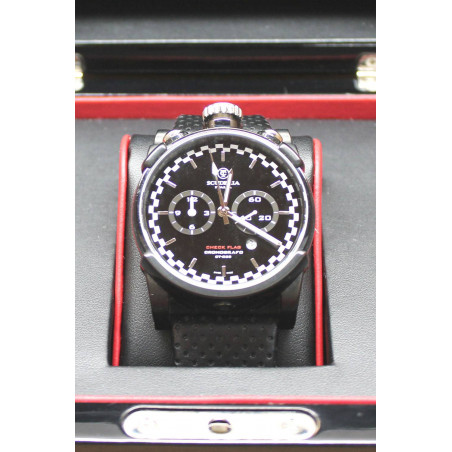 PRE-OWNED CT Scuderia Check Flag Men´s Watch 44 mm