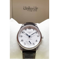Pre-Owned Longines Master White & Steel Herr 40 mm