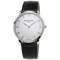 Frédérique Constant Slimline 38,4mm white dial & roman FC-200RS5S36