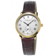 Frédérique Constant Slimline 29 mm Small Second Guld PVD Damklocka