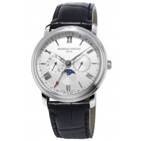Frederique Constant Classics Business Timer 40mm in steel FC-270SW4P6