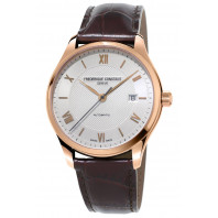 Frederique Constant - Classics Index 40mm Automatisk Silver & Rose Guld