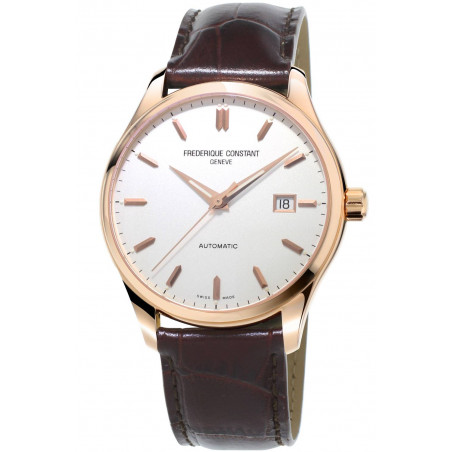 Frederique Constant Classics Index 40mm watch rose gold PVD FC-303V5B4