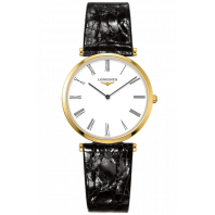 Longines La Grande Classique 33mm yellow gold & alligator L47092212