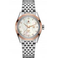 Rado HyperChrome Classic Automatic MOP Dial, 12 diamonds & Steel Bracelet 35mm R33102903