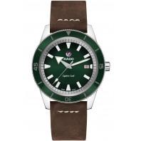 Rado - Captain Cook Automatisk Grön & Läderband R32505315