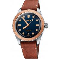Oris Divers Sixty-Five Blue...