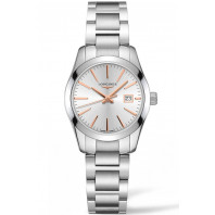 Longines - Conquest Classic 29.5mm Silver & Rose guld L22864726