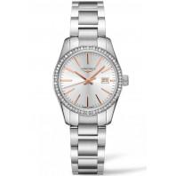 Longines - Conquest Classic 29.5mm Diamanter & Roséguld L22860726
