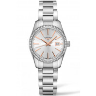 Longines - Conquest Classic 29.5mm Diamanter & Rose guld L22860726