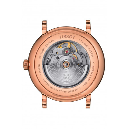 Tissot - Carson Premium Powermatic 80 Guld PVD T1224073603100