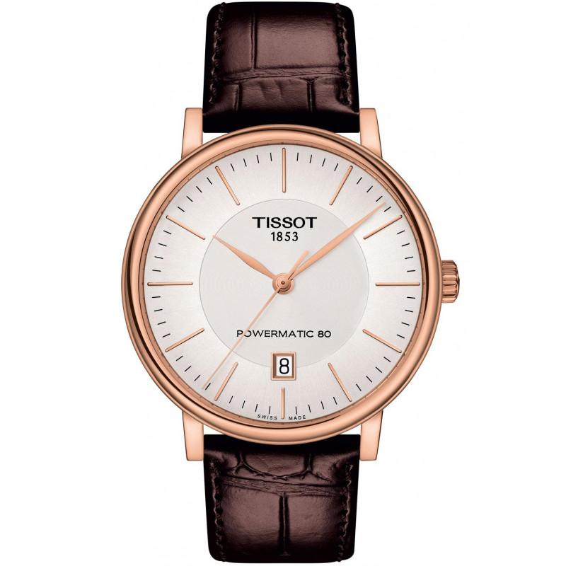 Tissot - Carson Premium Powermatic 80 Gold PVD T1224073603100