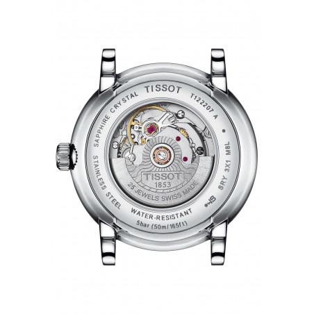 Tissot - Carson Premium Automatic Lady 30mm Black & Bracelet T1222071105100