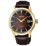 Seiko - Presage Cocktail Automatic 41mm Brown Old Fashioned Limited Edition SRPD36J1