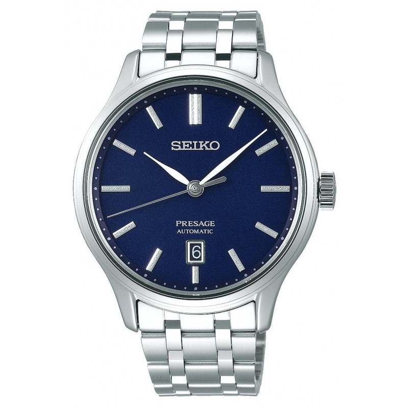 Seiko - Presage Automatic Blue & Bracelet 42mm SRPD41J1