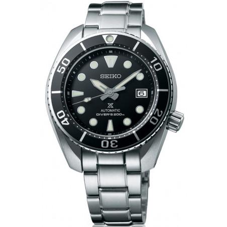 Seiko - Prospex 45mm Automatic Black & Bracelet Diver watch SPB101J1