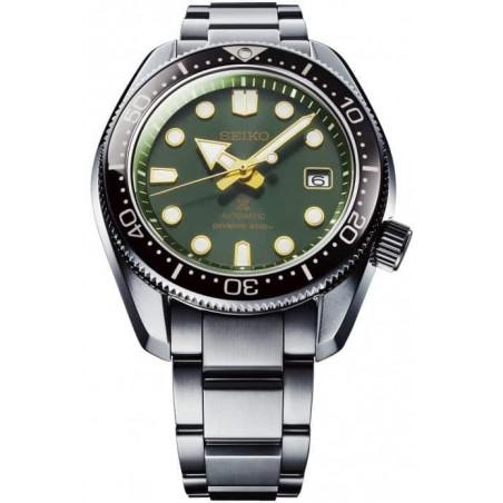 Seiko - Prospex 44mm Automatic Divers watch Dark Green Sunset SPB105J1