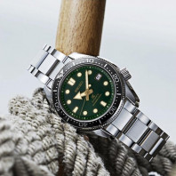 Seiko - Prospex 44mm Automatic Divers watch Dark Green Sunset SPB105J1