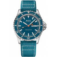 Mido Ocean Star Tribute -  DayDate Blue Steel M0268301104100