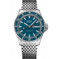 Mido Ocean Star Tribute -  DayDate Blue Steel M0268301104100