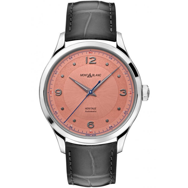 Montblanc - Heritage Automatic 40mm Salmon & Alligator Strap 119944