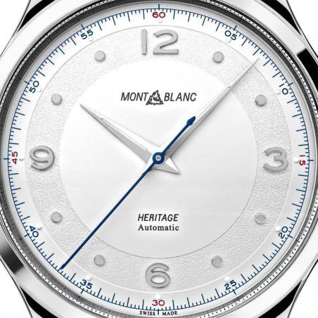 Montblanc - Heritage Automatic 40mm White & Bracelet 119945