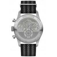Montblanc - 1858 Automatisk Kronograf 42mm Svart & Textilband 117835