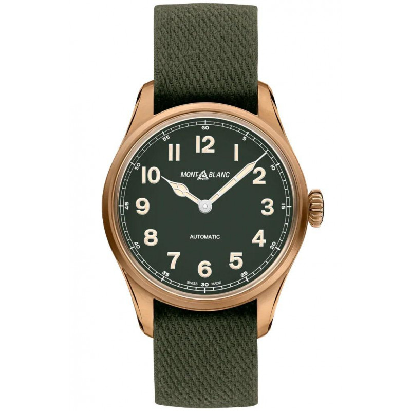 Montblanc - 1858 Automatic 40 mm Bronze Limited Edition 118222