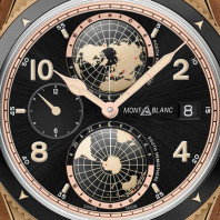 Montblanc - 1858 Geosphere 42mm Black & Bronze Limited Edition 1858 pcs 117840