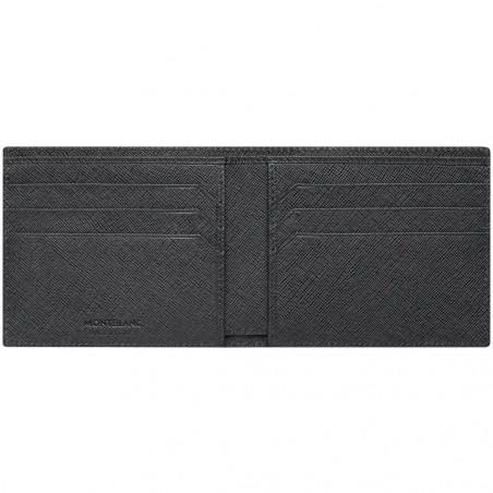 Montblanc - Meisterstück Sartorial Grey Leather Wallet - 6 Pockets 116325