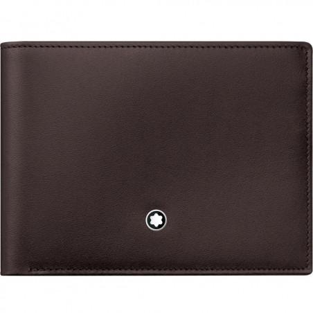 Montblanc - Meisterstück Brown Leather Wallet - 6 Pockets 114541