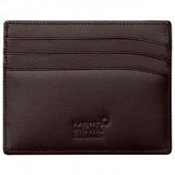 Montblanc - Meisterstück Brown Cardholder - 6 pockets 114556
