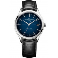 Baume & Mercier Clifton COSC Baumatic Blue & Leather strap - M0A10467