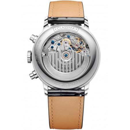 Baume & Mercier Classima Automatic Chronograph & Calendar Blue & Leather Strap - M0A10484