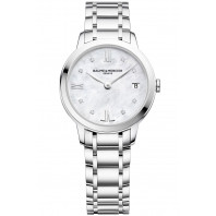 Baume & Mercier - Classima 31mm Quartz Mother-of-Pearl, Diamonds & Bracelet -  M0A10326