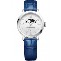 Baume & Mercier - Classima 31mm Quartz Moonphase Womens Watch - M0A10329