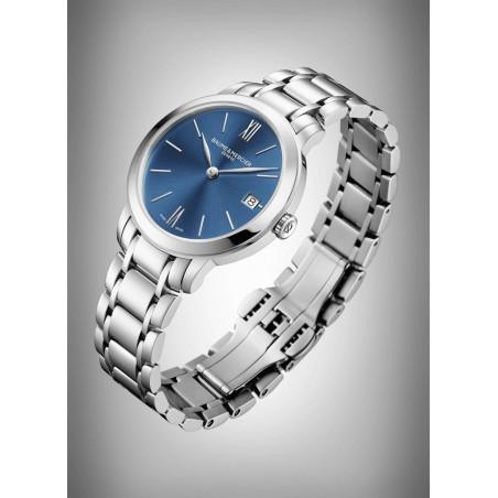 Baume & Mercier - Classima 31mm Quartz Steel & Blue Woman's Watch - M0A10477