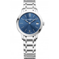 Baume & Mercier - Classima 31mm Quartz Steel & Blue Woman's Watch - M0A10477
