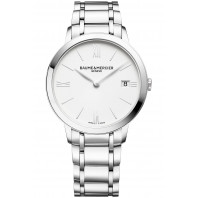 Baume & Mercier - Classima 36.5mm Quartz Steel & White - M0A10356