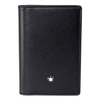 Montblanc - Meisterstück Black Leather Business Card holder - 108946