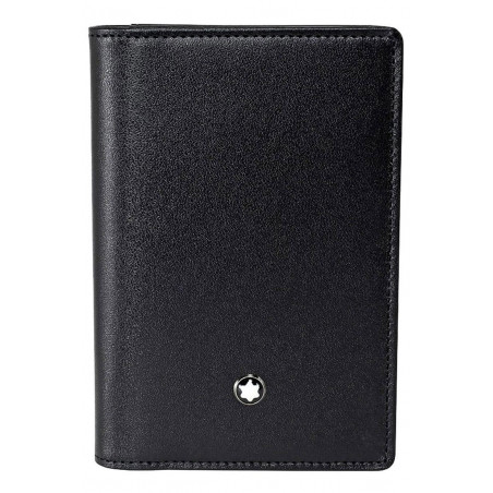 Montblanc - Meisterstück Black Leather Business Card holder - 108946